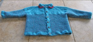 Finished Cardigan for GS