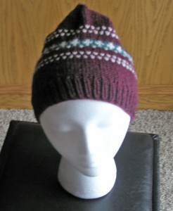 Front view of Three Color Hat ala EZ