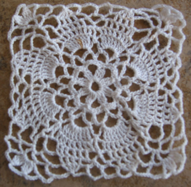 Pattern: Re-created Vintage Crochet Motif - ?Mom?s Motif?