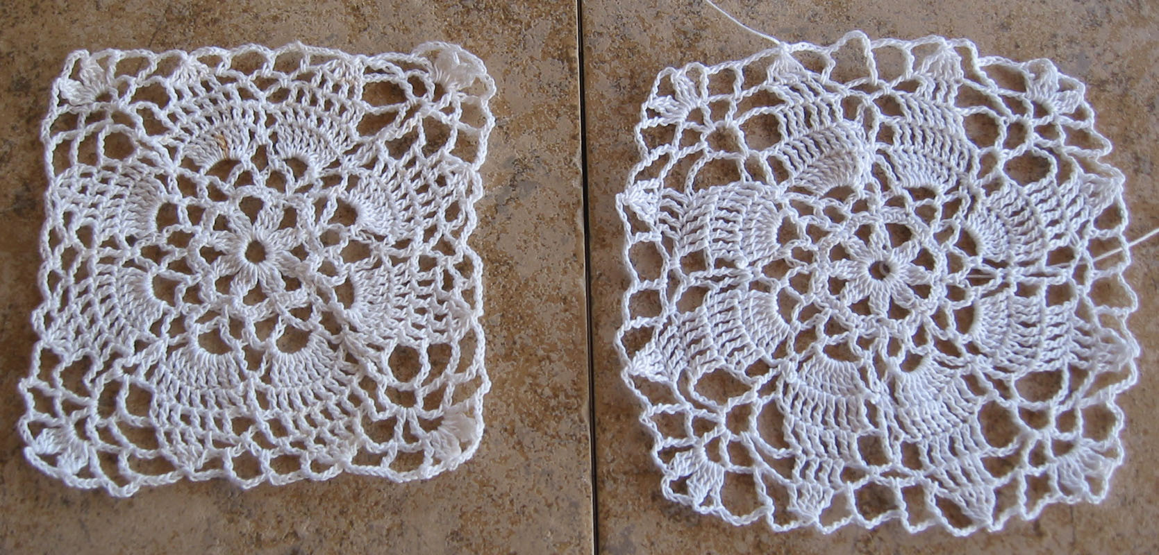 Re-created Vintage Crochet Edging Pattern