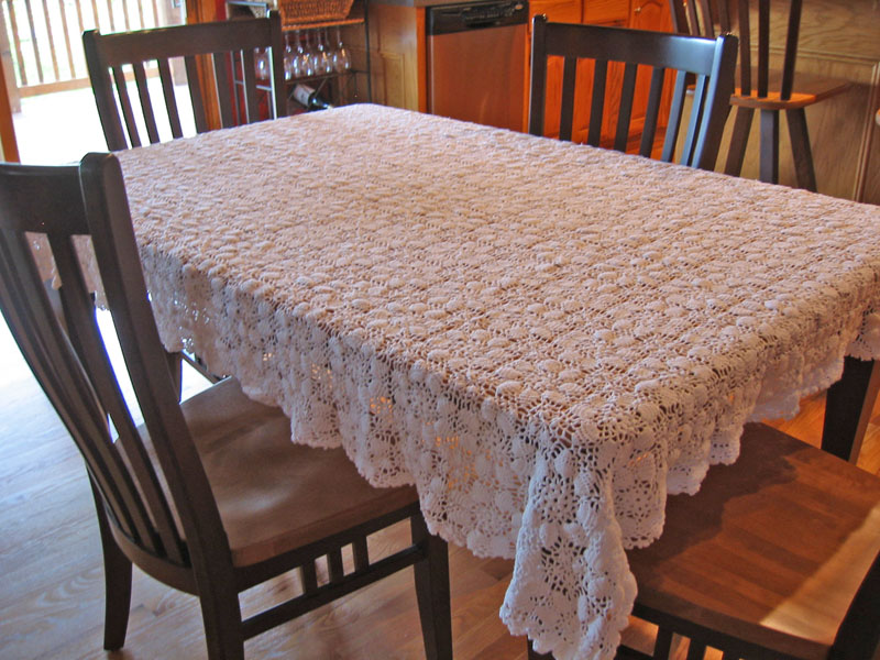Free Crochet Tablecloth Patterns - Barb's Just Crochet